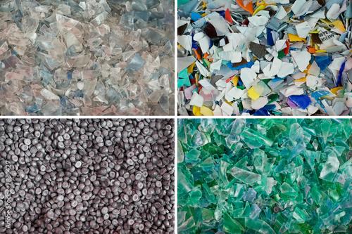 recyclage recycler matière bouteille plastique écologie première - 7830429