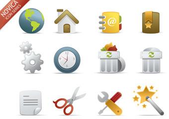web icons - Novica set 1