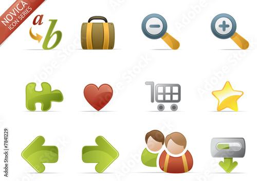 web icons - Novica set 3