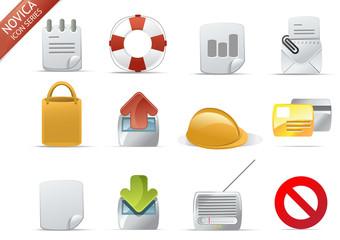 web icons - Novica set 7