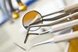 Leinwanddruck Bild - dental tools