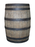 A Traditional Wooden Beer Barrel. poster