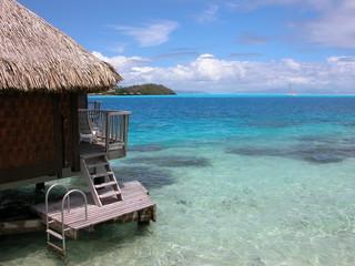 Piloti à Bora Bora