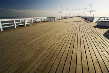the pier in Sopot