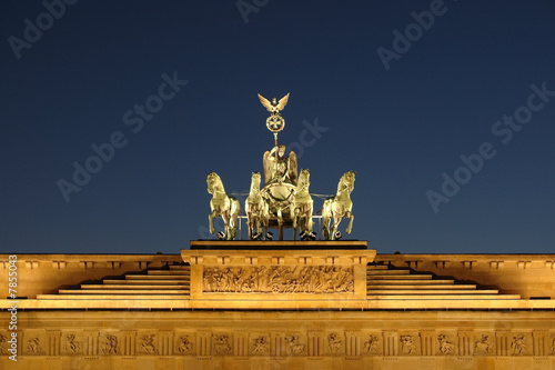 canvas print picture Brandenburg gate