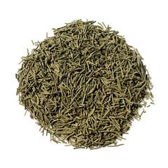 Japanese green Kokeicha (formed tea)