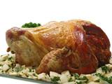 weihnachtliche truthahnbraten,amerikanische thanksgiving pute poster