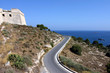 ibiza dalt vila and road