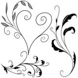 Floral elements G - popular floral segments poster