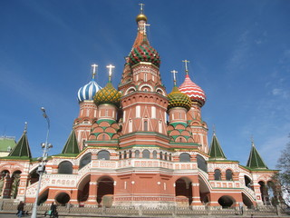 Moscow, Russia, St.Basil's (Pokrovskiy) cathedral