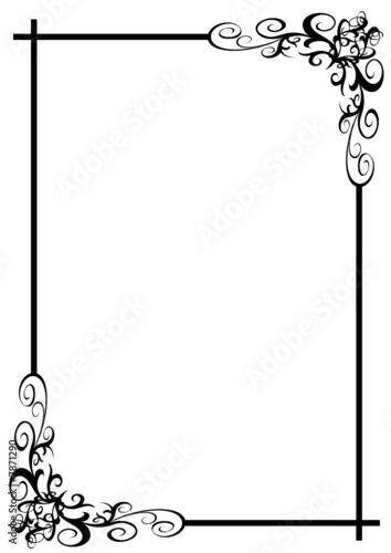 cadre design fichier vectoriel libre de droits sur la banque d 39 images image 7871290. Black Bedroom Furniture Sets. Home Design Ideas