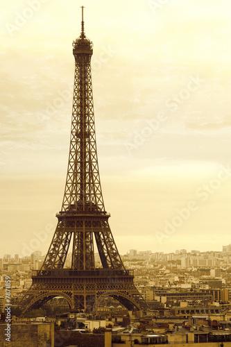 Old Eiffel Tower