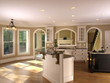 Luxury Model Home Kitchenette 1