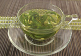 Herbal mint tea poster