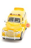 school bus model poster