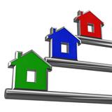 silver house key metaphor  poster