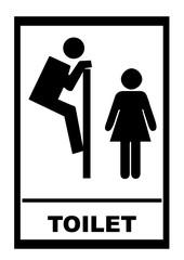 Toilet comic