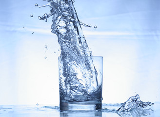 water in action