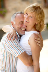 Ehepaar mit Altersunterschied