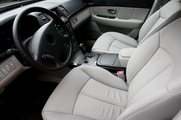 Beautiful leather interior