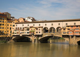 The Ponte Vecchio Bridge in Florence poster
