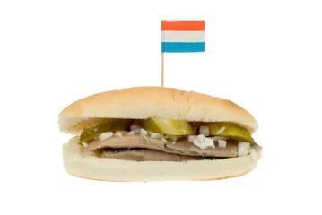 dutch herring sandwich
