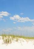 Sand Dune Under Idyllic Sky poster