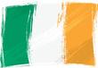 Grunge Ireland flag
