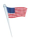 flag united states poster