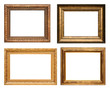 Antique picture frames, high resolution.