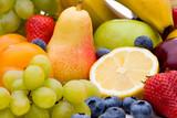 Bunte Mischung aus Vitaminen