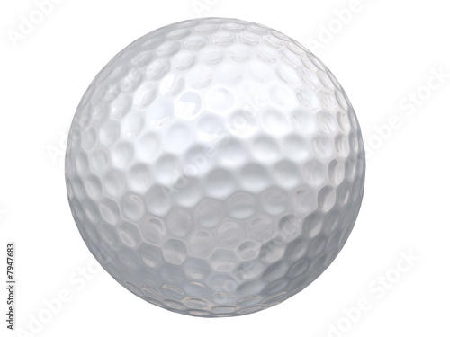 canvas print picture Golf Ball