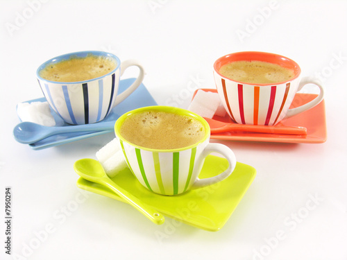 tasses caf design photo libre de droits sur la banque. Black Bedroom Furniture Sets. Home Design Ideas
