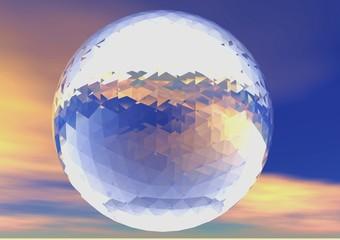 boulle de cristal