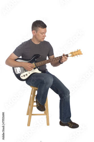 guitarist playing