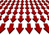 Downward Trend Business Concept Background poster