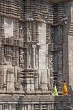 Ancient Hindu Sun Temple at Konark, Orissa poster
