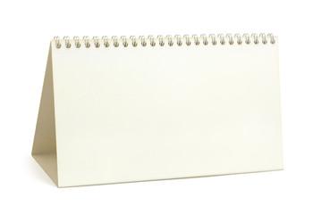 Desk paper calendar