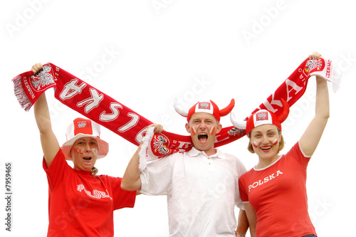 Polish soccer fans - 7959465