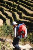 Trekking guide poster