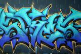 Fototapety Street Graffiti Spraypaint