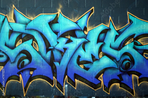 Street Graffiti Spraypaint - 7970211