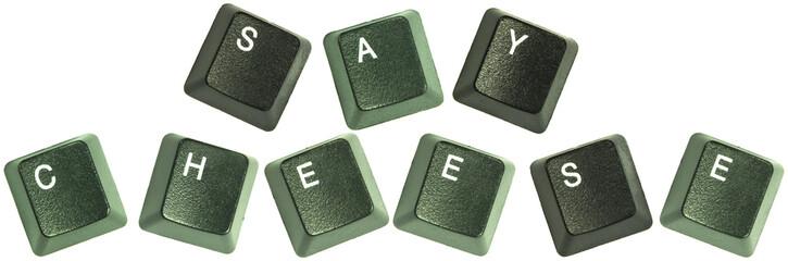 Say cheese keyboard words