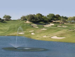Beautiful luxury golf resort in Scottsdale, AZ