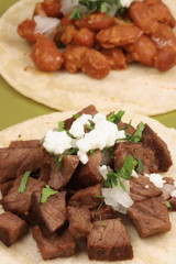 beef and beans flavorful tacos