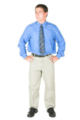 Young adult businessman
