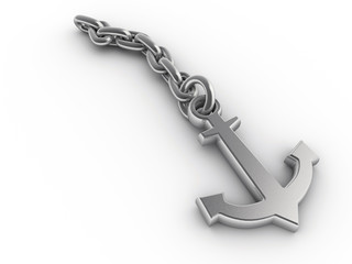 Anchor and chain2
