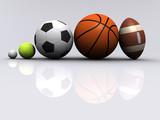 Fototapety Sports ball