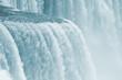 Rare close up detail of Niagara Falls