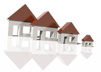 Falling house market
